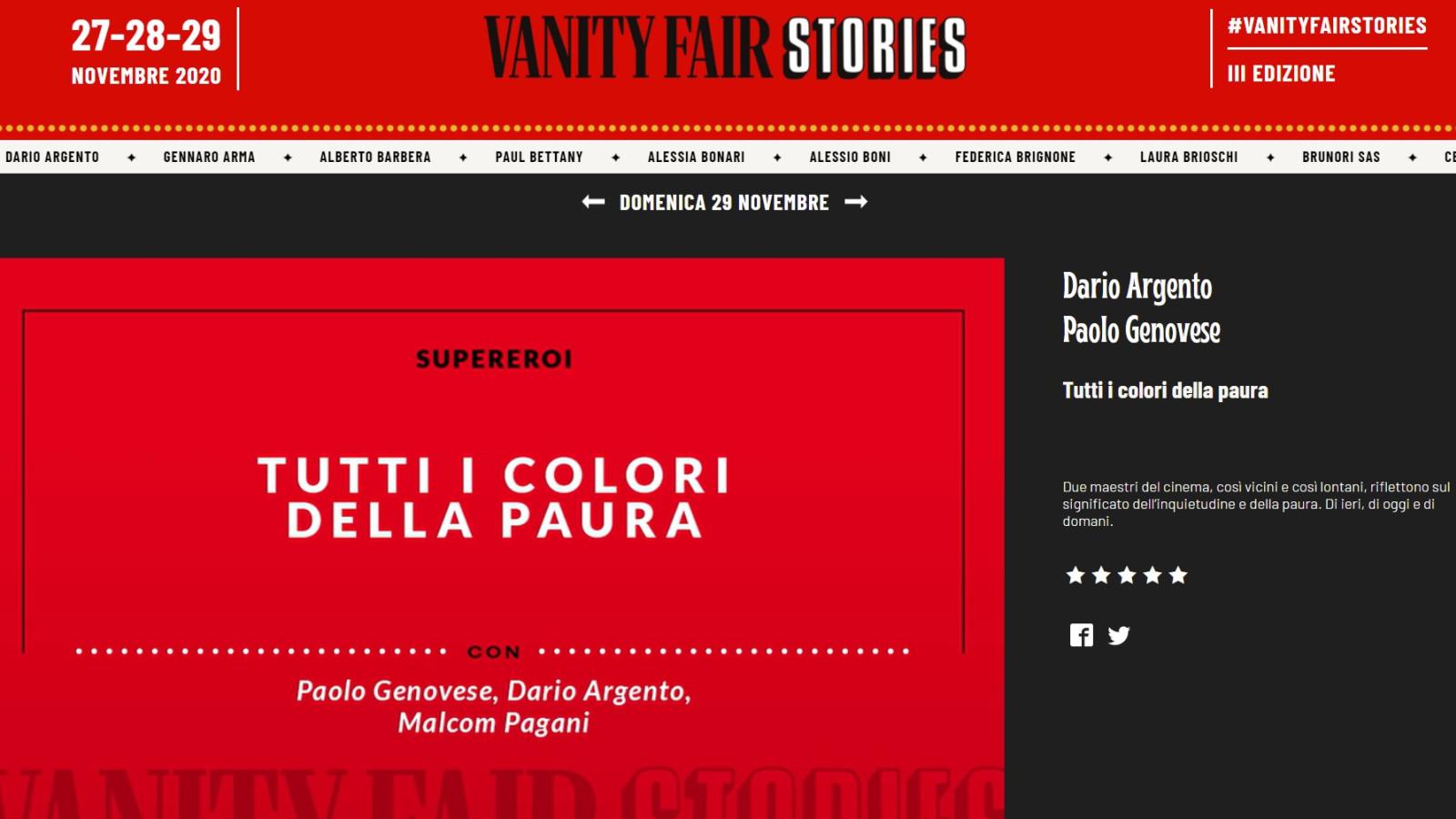 TALK PAGE - Benedetta Malavasi - Italy - Vanity Fair Stories