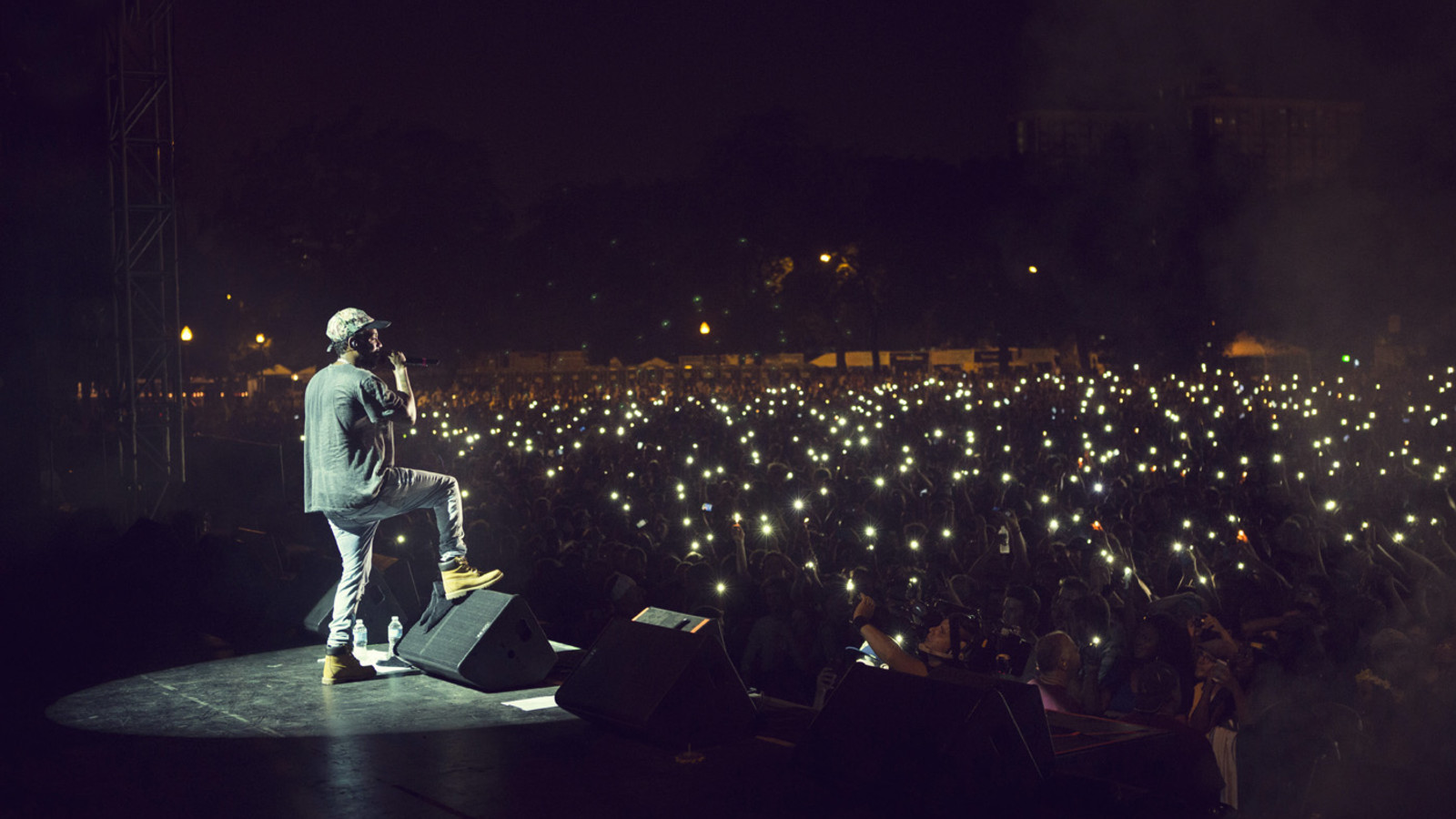 PMF2014 Kendrick Lamar Jessica Lehrman - Adam Krefman - US - Pitchfork Music Festival Chicago