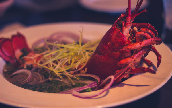 District one Lobster pho