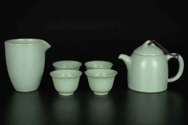 Портативный фарфоровый чайный набор кунг-фу
