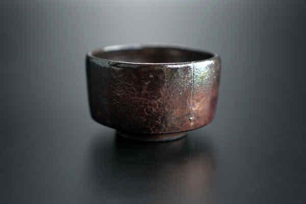 Чайна піала Раку ручної роботи від майстра кераміки #117