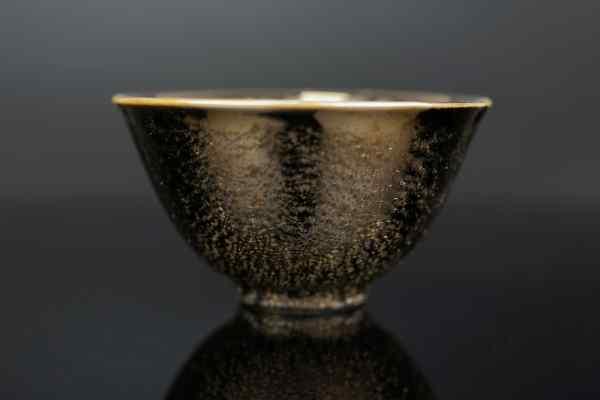 Керамічна чайна піала Золоте Світло