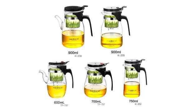 Заварники для чаю Ізіпод KamJove Тіпод 600-1000 мл