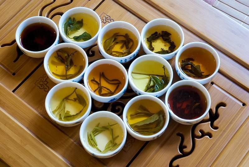 Виды чая по форме