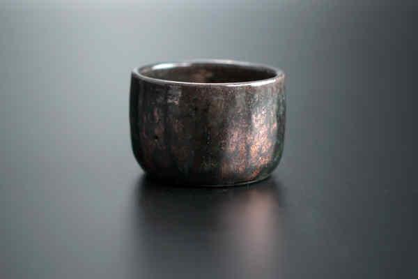 Чайна піала Раку ручної роботи від майстра кераміки #118
