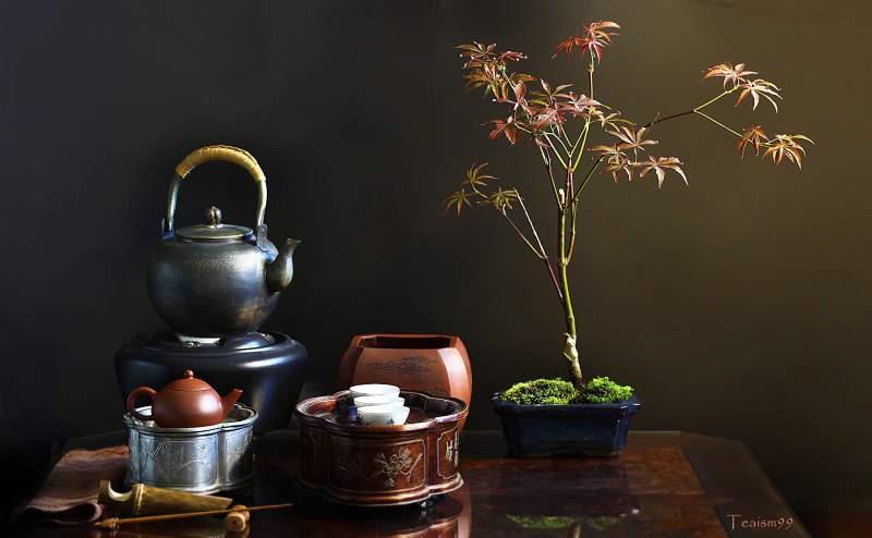 Чайная Церемония Икэбана и Бонсай
