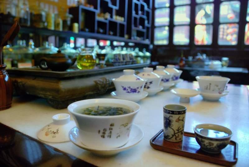 Чай и алгоритм здоровья Инь/Ян