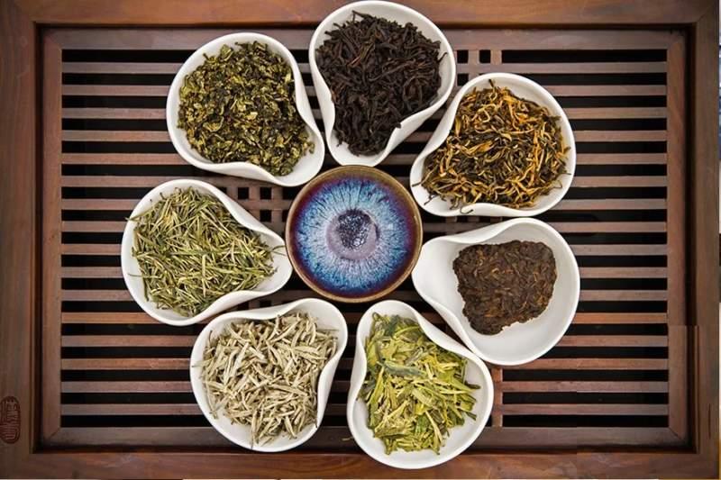 группы китайских чаев