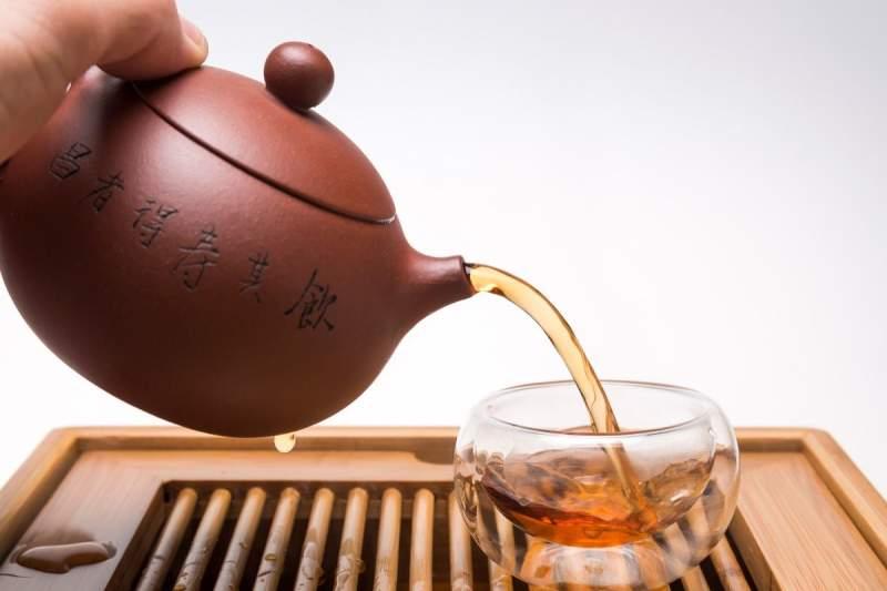 Чайник из иссинской глины