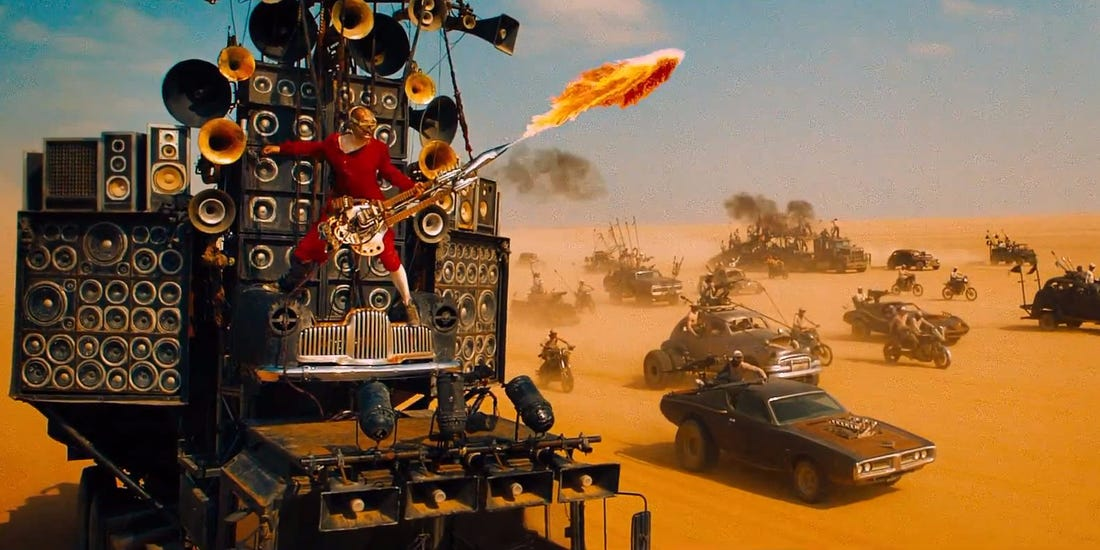 Mad Max: Fury Road 2015 - Warner Brothers.