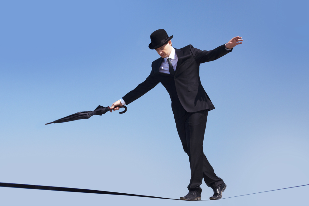 Investing without risk management is like walking on the tightrope.