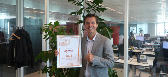 eneco takes first place in research on energy suppliers