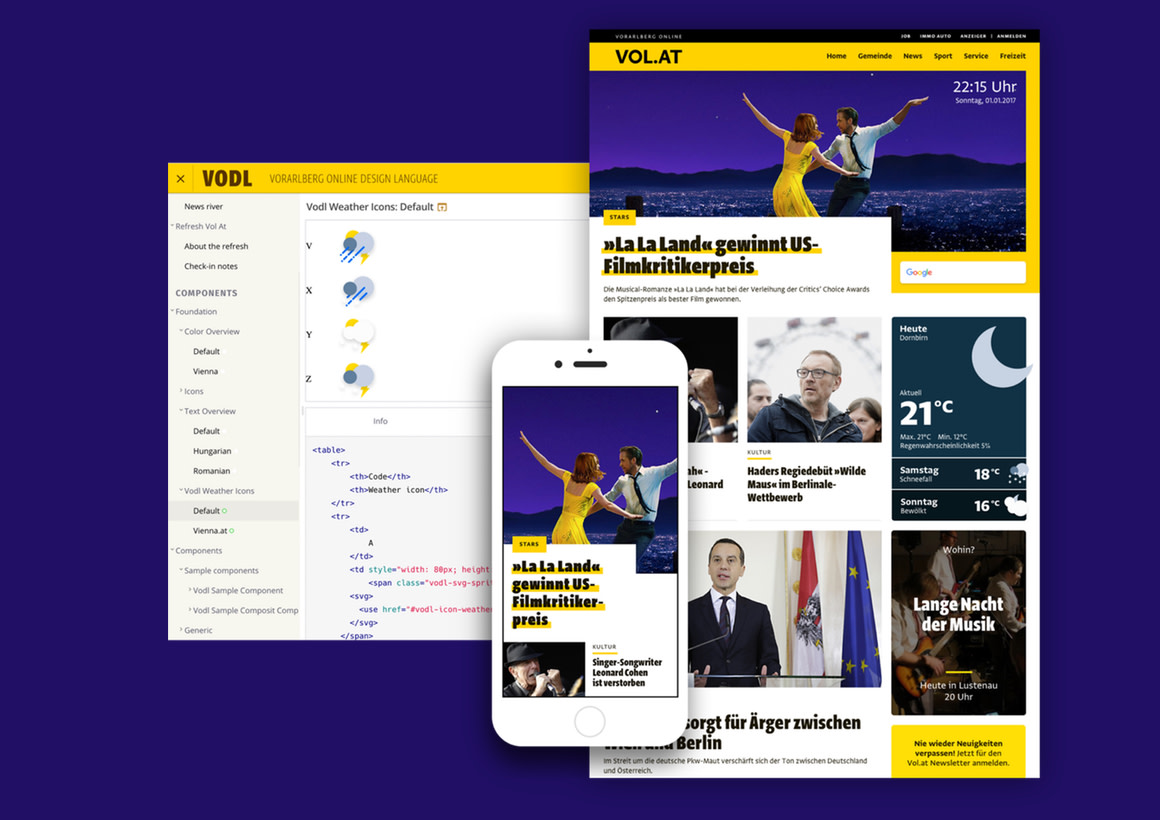 Relaunching Austria's biggest local news platform vol.at