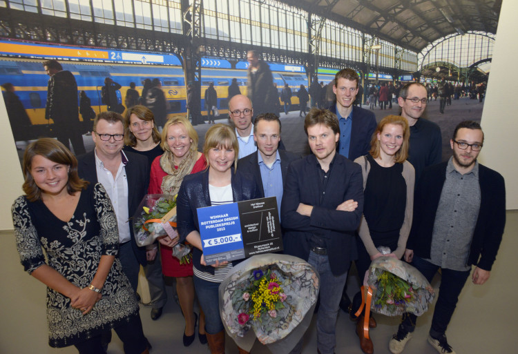 NS, ProRail, STBY and Edenspiekermann win Rotterdam Design Public Prize 2013