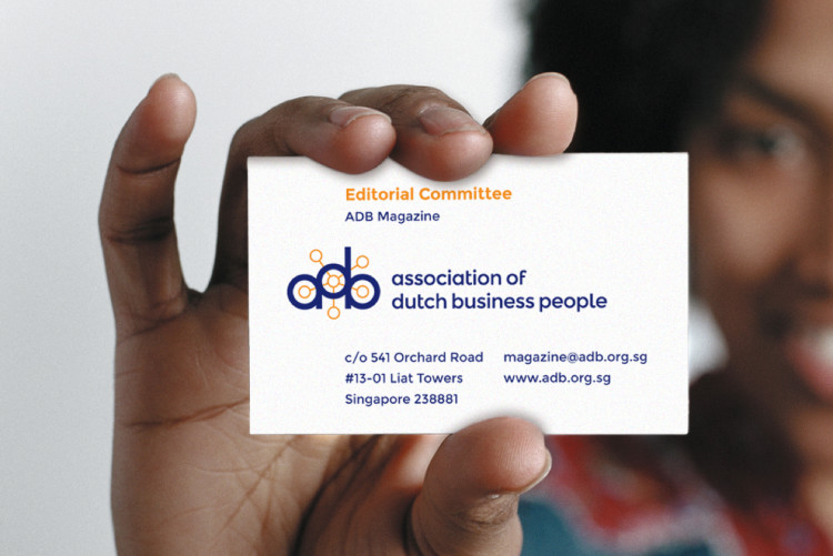 ADB business card