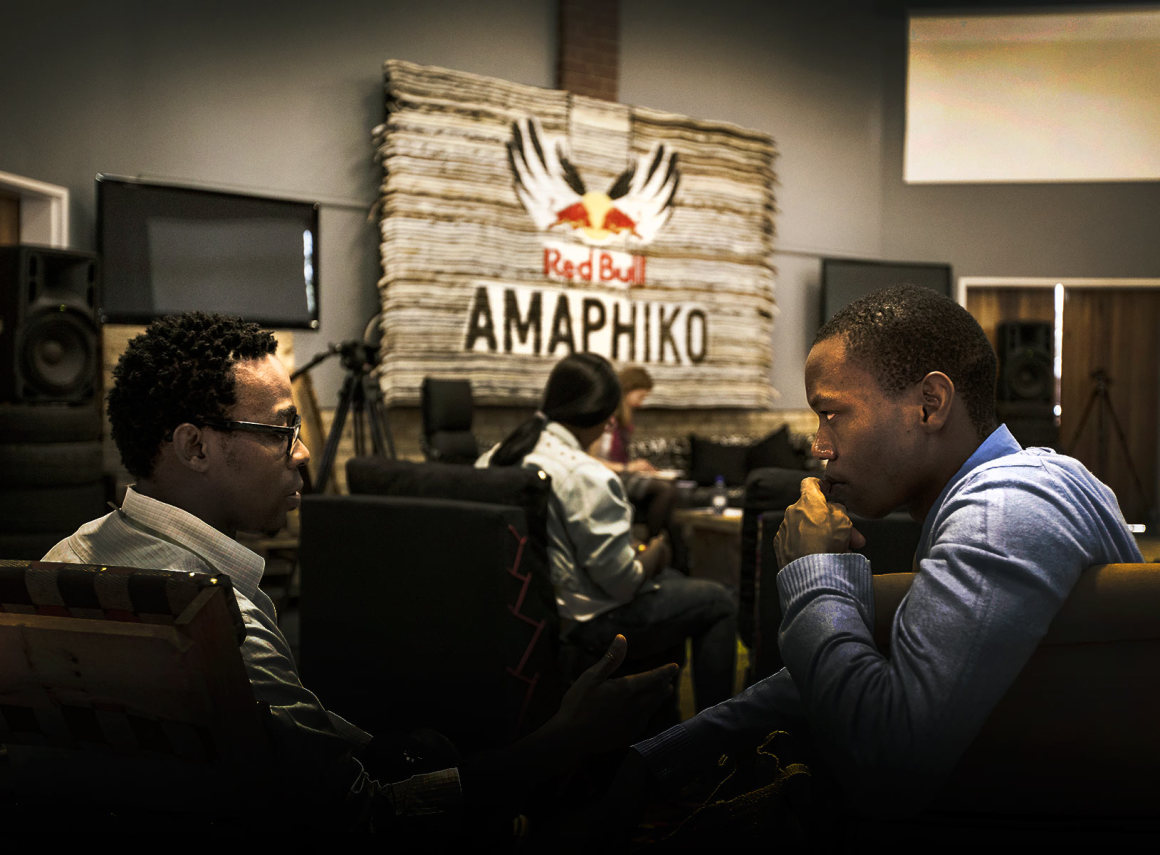 A storybuilder for social entrepreneurs with Red Bull Amaphiko