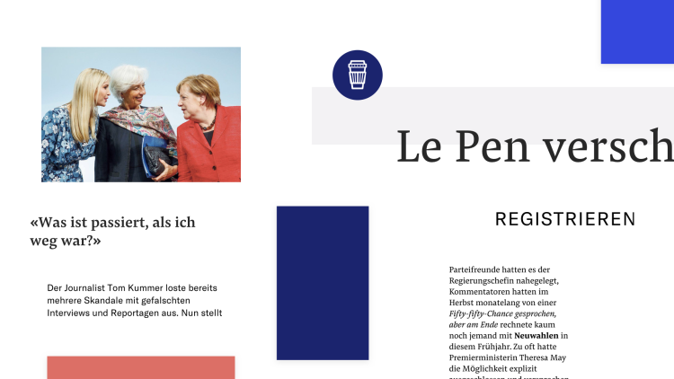 The New Look NZZ Website
