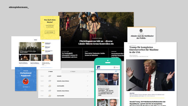 Edenspiekermann Launches Eight News Portals for AZ Medien