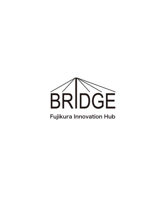 フジクライノベーションハブ「BRIDGE」のロゴ