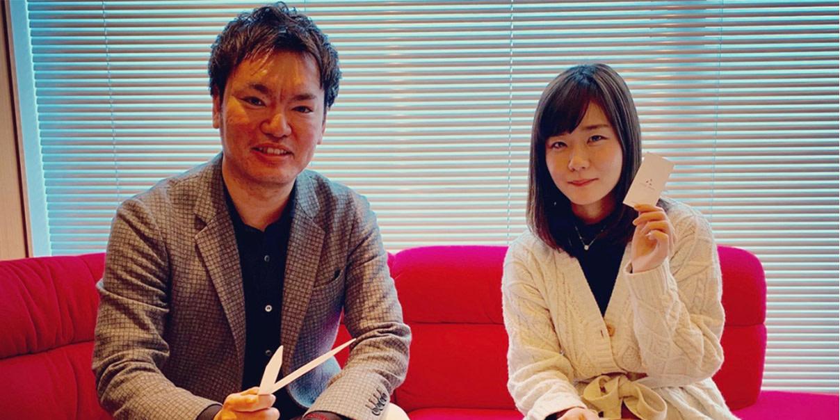 吉澤嘉代子さんと太田の写真