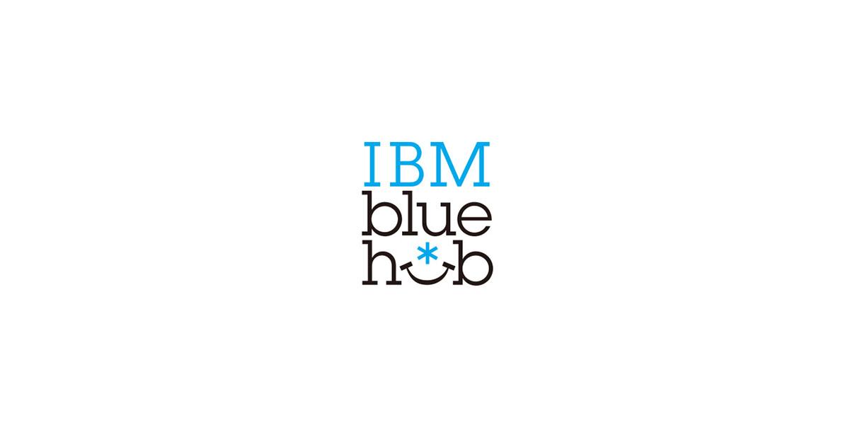 IBM BlueHubのロゴ