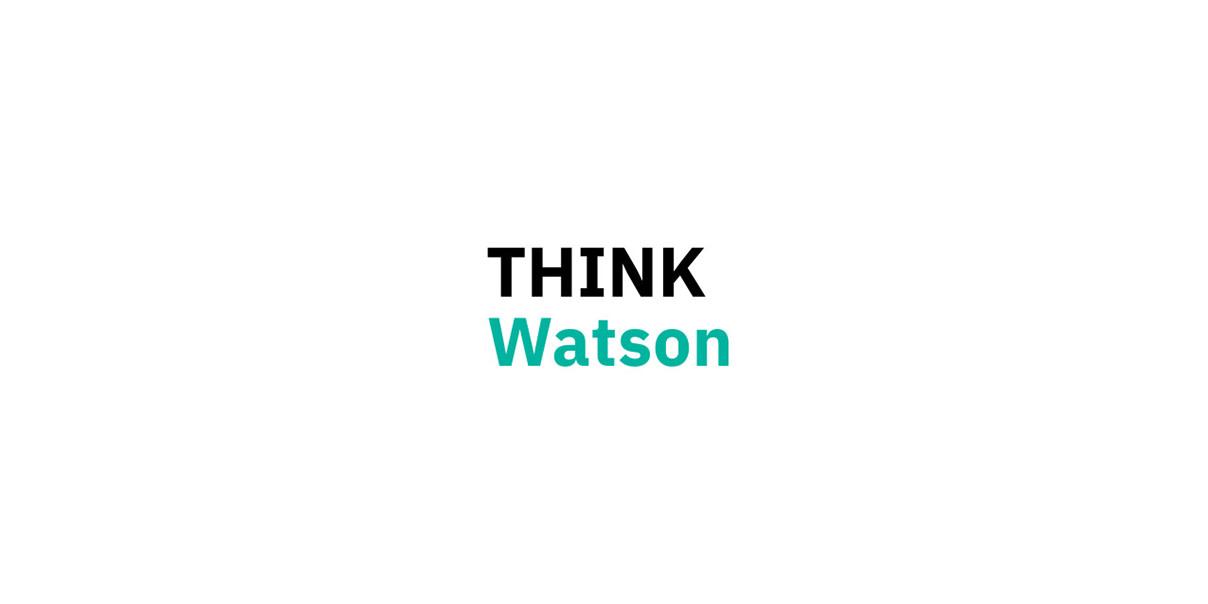THINK Watsonのロゴ