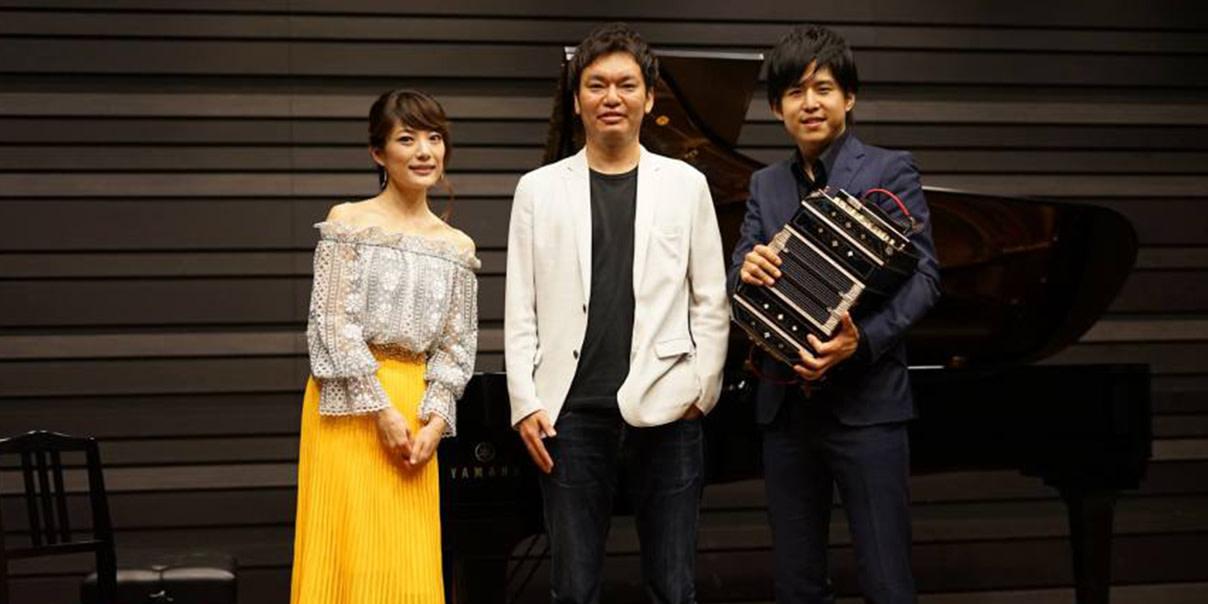 須藤千晴さん、三浦一馬さん、太田の写真