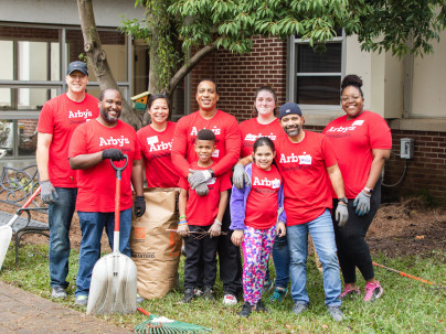 Arby's Volunteer Event