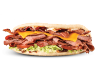 LTO Brisket Bacon Flatbread