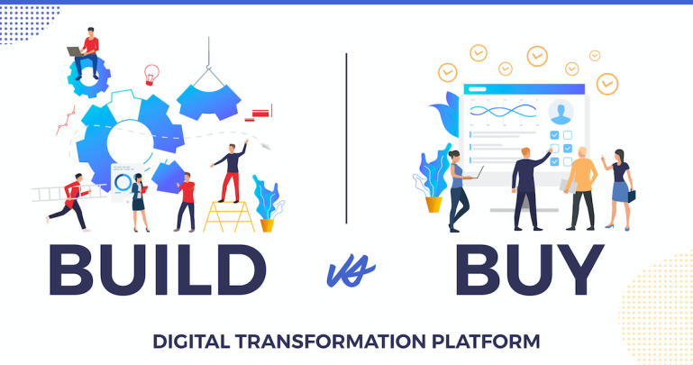 To Build Internally or To Buy a Platform??