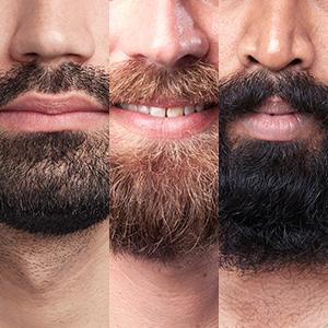 Díky technologii AutoSense se přizpůsobí jakýmkoliv vousům