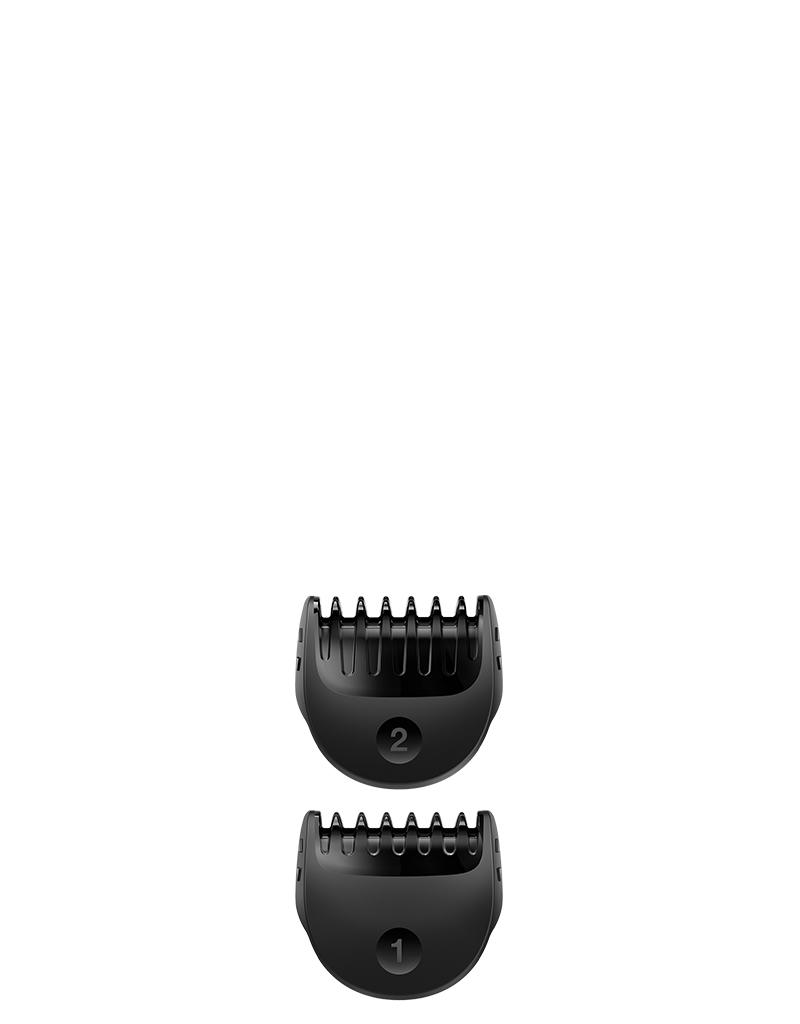 Hřebeny s pevnouy délkou střihu 1 a 2 mm