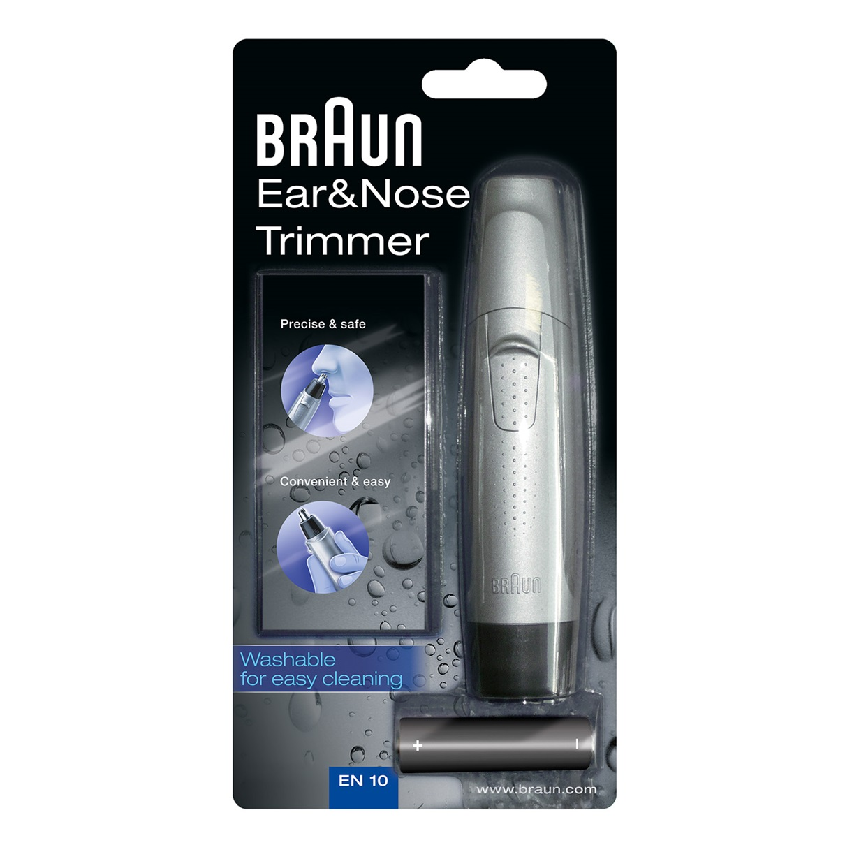 Braun EN10 Ear and Nose Hair Trimmer - packaging