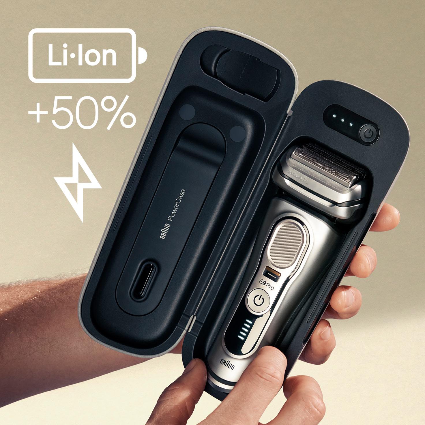 O 50% delší doba provozu na baterie