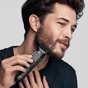 Zastřihování dlouhých vousů