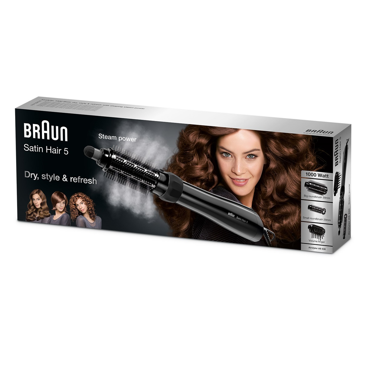 Braun Satin Hair 5 AS530 Airstyler - packaging