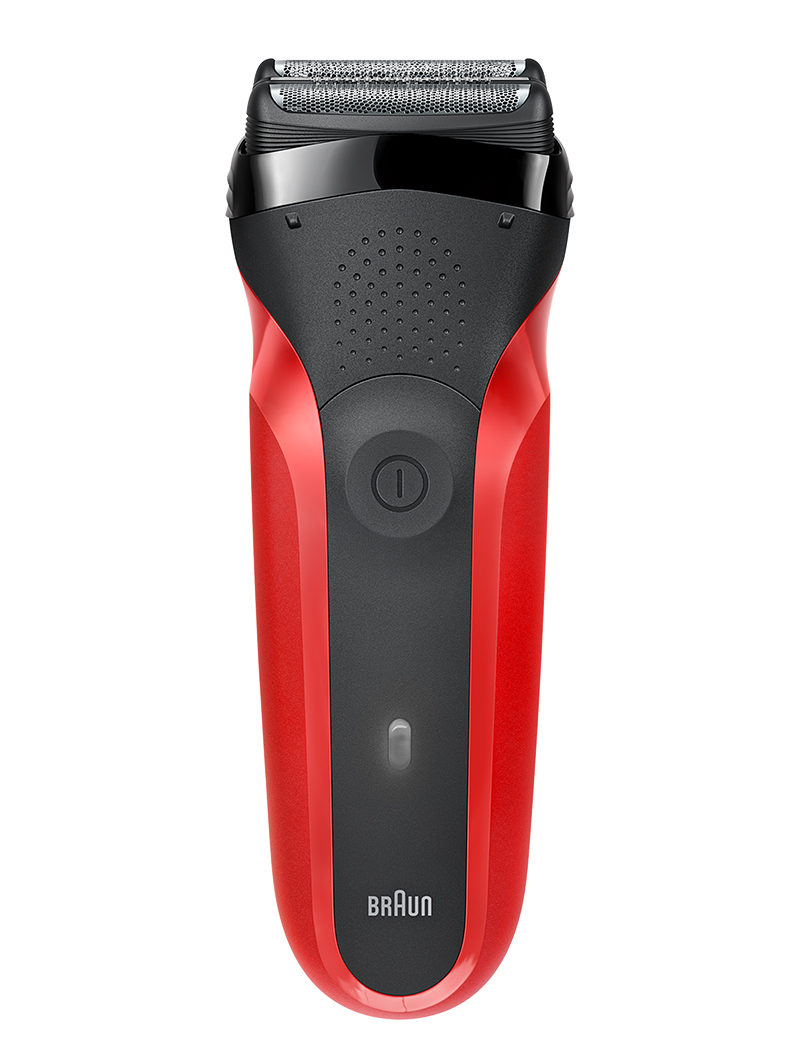 Series 3 300s shaver, red