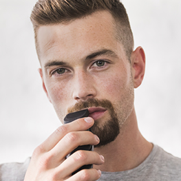 Shape your Goatee with the precision trimmer