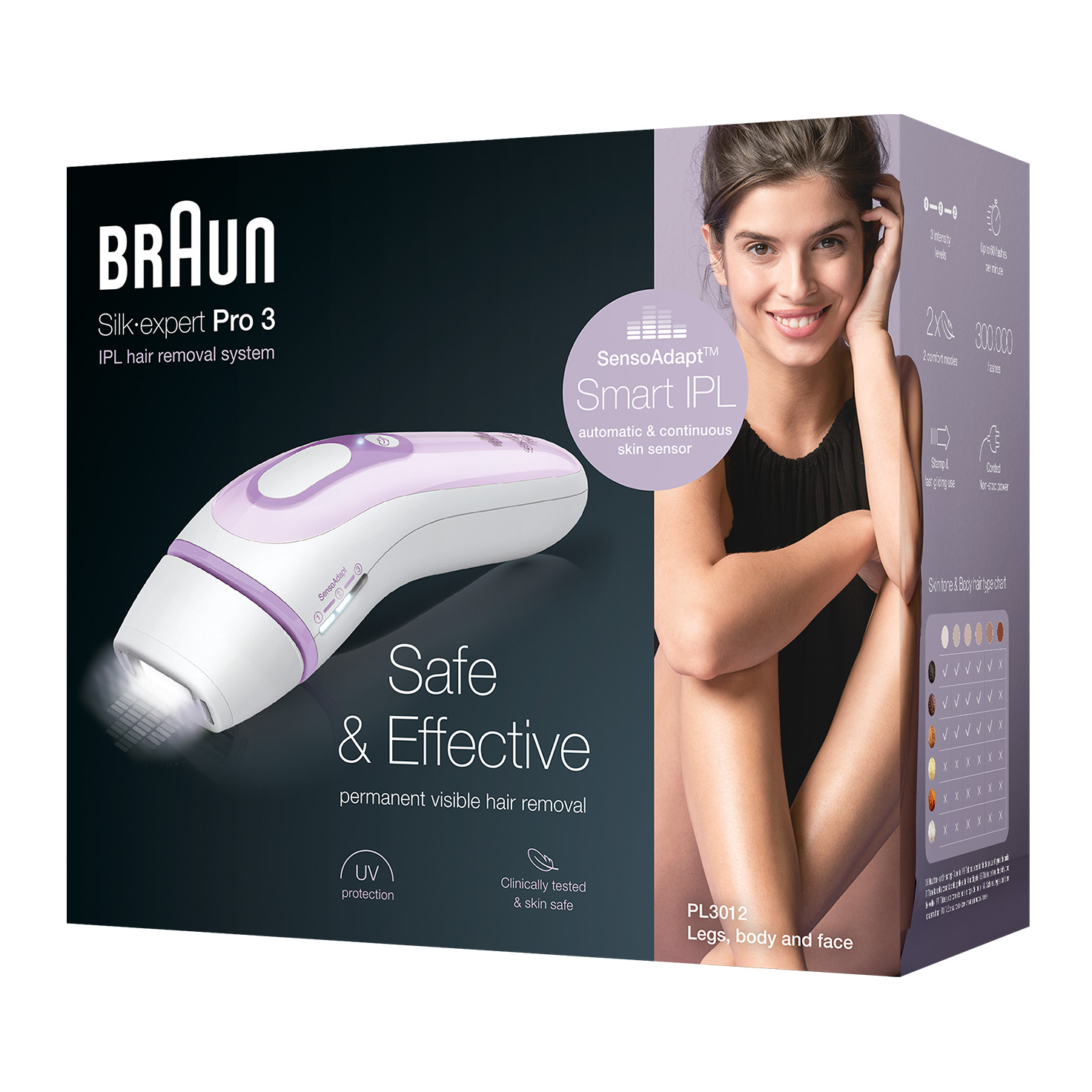 Braun Silk-expert Pro 3 PL3012 - Packaging