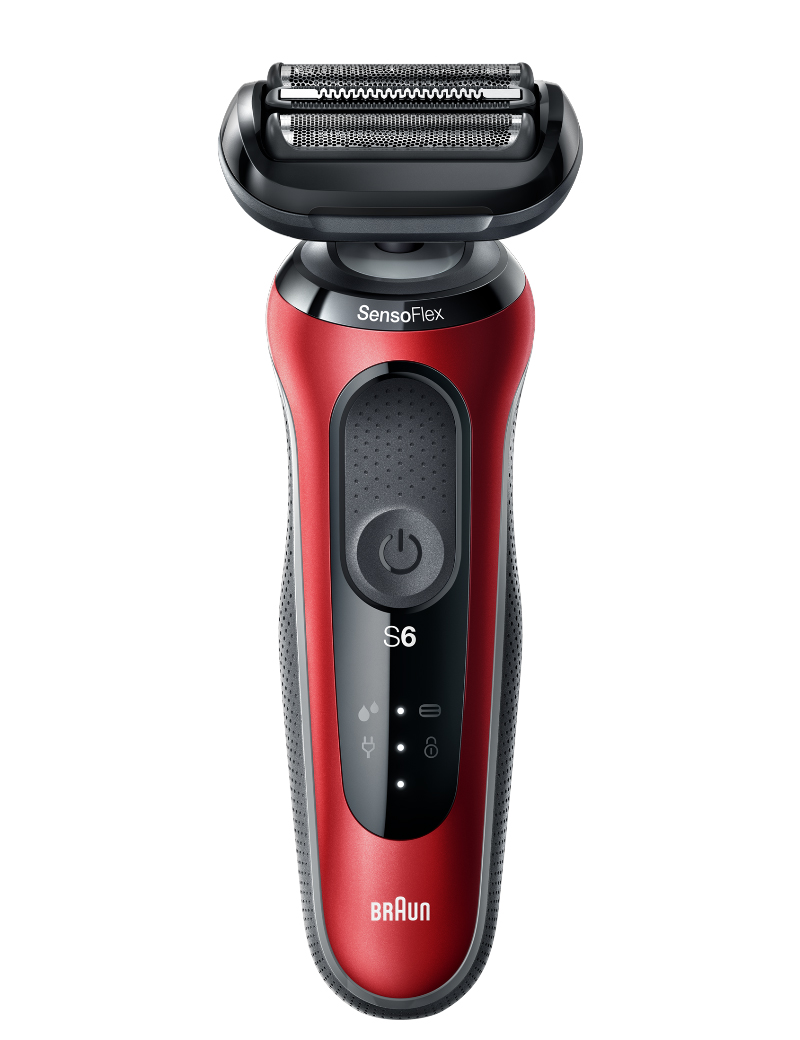 Series 6 60 Wet & Dry shaver Candy red