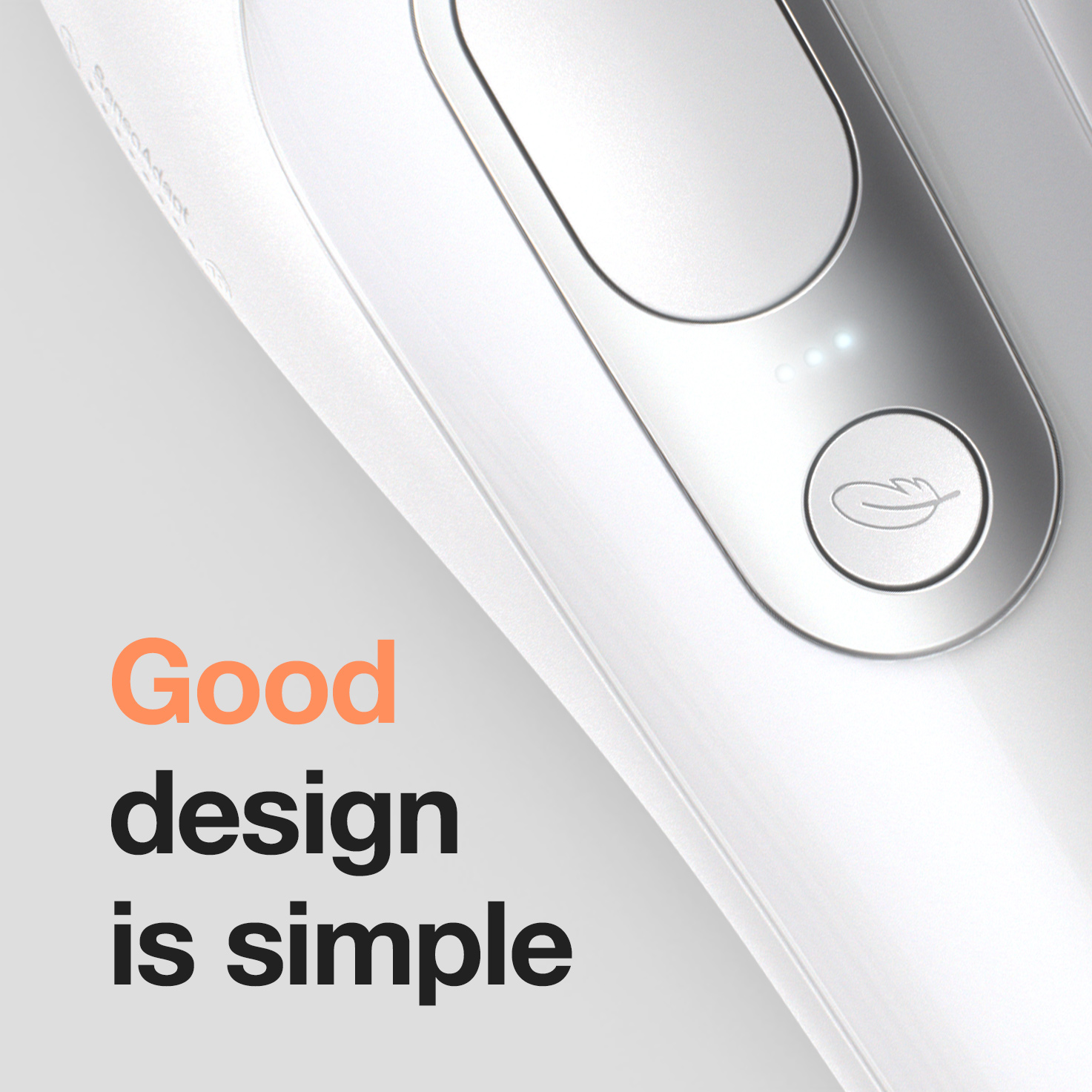 Good design is simple