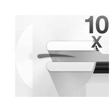 10 micro-openings