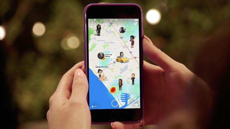 Introducing Snap Map
