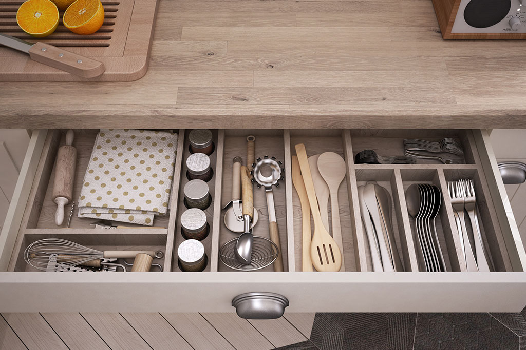 kitchen tool in drawer