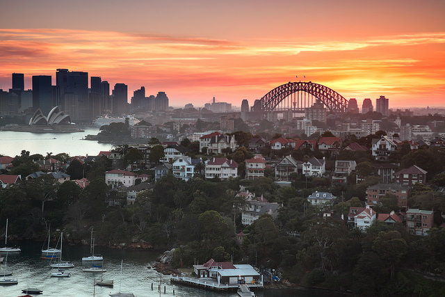 sydney-sunset-skyline
