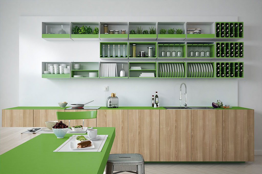 white-kitchen-with-wooden-and-green-details