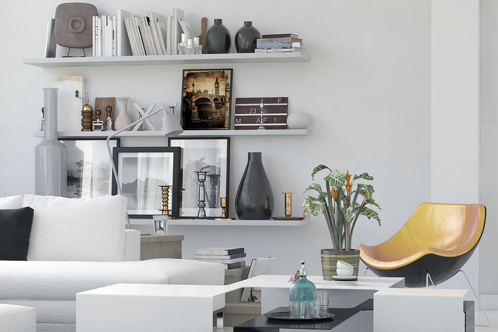 white-wall-mounted-shelves