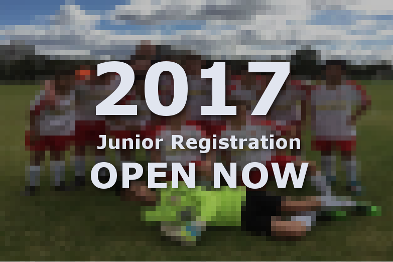 2017 Junior registration is open now