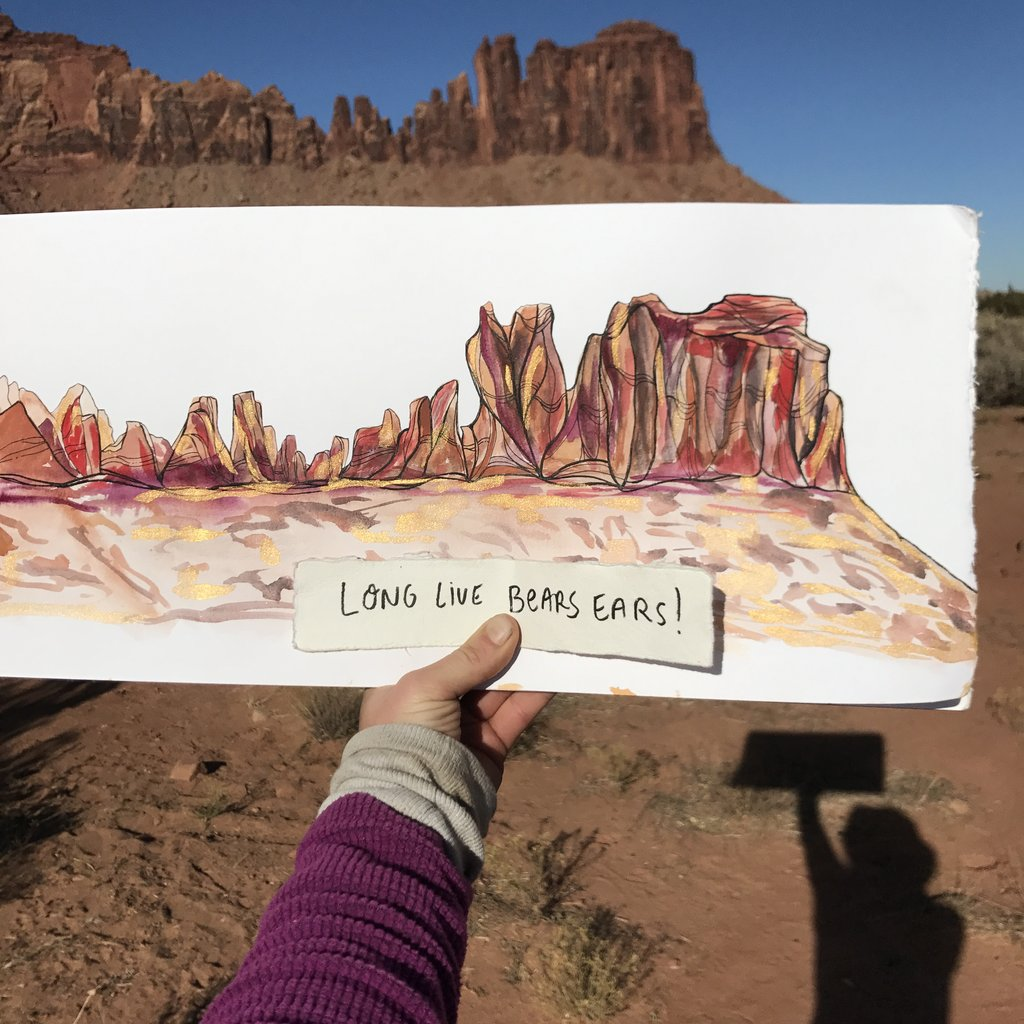 Long Live Bears Ears painting