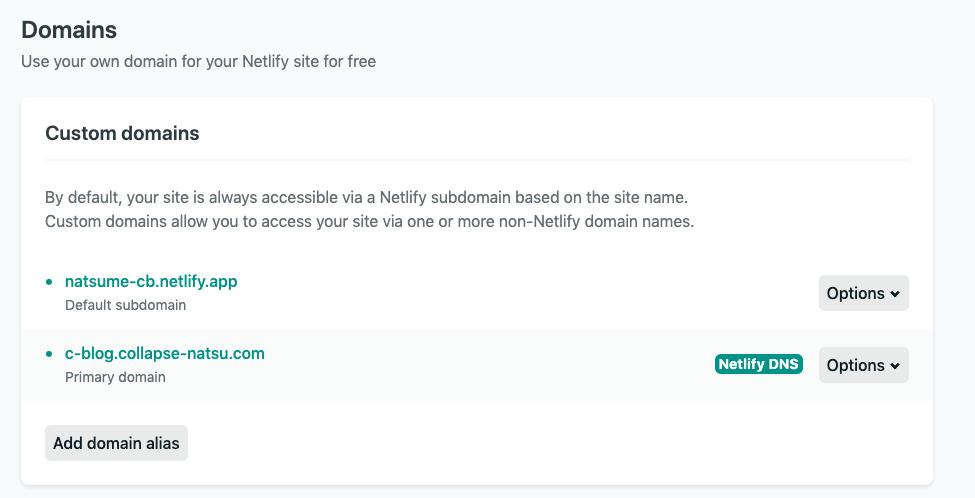 Netlify Domain